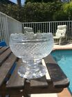 Waterford Crystal Master Cutter Period Collection Footed Bowl With Scallop Rim