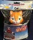 New Rare Vtg Cat Air Freshener Doll, 5-3/4