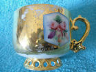 Antique Russian Imperial Porcelain Cup KUZNETSOV FACTORY