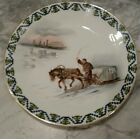 ANTIQUE ROYAL RUDOLSTADT PRUSSIA COLLECTORS PLATE - ICE