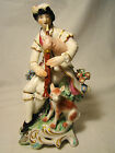 Derby Porcelain N 301 Figurine Seated Piper 6 1/2