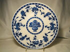 Minton Flow Blue Delft Pattern Dinner Plate 10 1/2