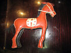 ANTIQUE STUFFED HORSE TOY no.1