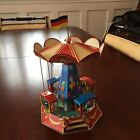 Tin Carousel Germany Nurnberger Blechspielzeug Nostalgic, NEW Reproduction Box