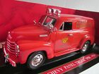 1950 Chevrolet Panel Delivery Boston Fire Department Red, Mira, 1:18 Car