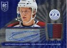 13-14 Totally Certified Rookie Auto Jsy Prime Plat Blue #229 Nathan MacKinnon 25