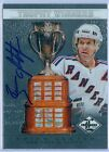 BRIAN LEETCH 2012-13 LIMITED TROPHY WINNERS AUTO AUTOGRAPH SP 99