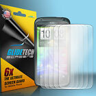 6 ULTRA Clear Front Screen Protector Cover Shield for HTC Sensation 4G T Mobile