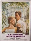 MISSISSIPPI MERMAID 1969 French 47x63 A Catherine Deneuve Francois Truffaut