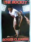 RARE ROGER CLEMENS THE ROCKET 1987 VINTAGE ORIGINAL COSTACOS BASEBALL POSTER