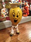 Vintage 1968 Zenith N.Y Rubber Squeeze Squeak Toy Rare Advertising Funny Face