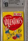1960 60 TOPPS FUNNY VALENTINES WAX PACKS GAI 9 MINT $.05 UNOPENED RARE