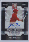 2009 MIKE TROUT ELITE EXTRA EDITION #57 RC AUTO ROOKIE AUTOGRAPH 314 495 NICE