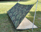 Woodland & Tan Field Tarp shelter  US Army  Brand New Unissued  Reversable