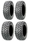 Full set of Maxxis Ceros Radial 25x8-12 and 25x10-12 ATV Tires (4)