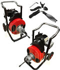 1 2 Snake 100 Ft Electric Drain Auger Cleaner Cleaning Sewer Plumbing Cutter