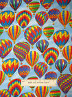 Hot Air Balloon Sky Fly C8881 Timeless Treasures 100% Cotton Fabric 1.2 Yards