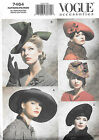 7464 NEW VOGUE VINTAGE STYLE HATS Pattern One Size 1930's & 1940's STYLES