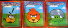 Angry Birds 5 UNNOPENED ENVELOPES STICKERS AREGNTINA 2012