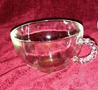 Vintage Anchor Hocking Punch Tea Cup drinking glass With Boopie Handle