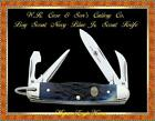 W.R. Case & Son's Cutlery CA8055 CASE XX™ Boy Scouts Navy Blue Jr Scout Knife