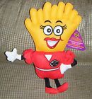 2011 GOLDIE FRENCH FRY FRIES PLUSH Steak n Shake Stuffed Toy Mint with Tags