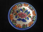 Decorative small colourful hand painted ceramic plate 6