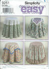 Simplicity 9251 Craft Home Decorating DESIGN YOUR OWN EASY TABLE COVERS