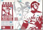 2003 TOPPS TRIBUTE BASEBALL CONTEMPORARY COLLECTION SEALED UNOPENED HOBBY BOX