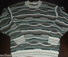 Mens Protege Sweater Medium Ugly Christmas Bill Cosby Notorious Big crazy tacky