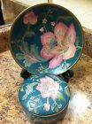 Vintage Chinese Hand Painted Plate And Dish Dynasty By Heygil HFP Macau