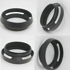 Black  52 mm 52mm metal Tilted Vented Lens Hood Shade for Leica M LM Summicron