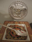 VERSACE GREEK KEY TEA SPOON  SILVER Rosenthal HOLIDAY BABY GIFT AUTHENTIC SALE