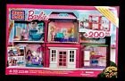Barbie Mega Bloks Build N Play Fab Mansion Dream House Set 200 Pieces