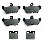 1989-1992 BMW K100RS (16 valve) Front & Rear Brake Pads