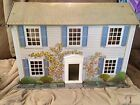 1950's Vintage Metal Dollhouse By Today's Kid's Of Booneville AR - Two Story