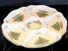 Original Spode Christmas Tree ENGLAND Hors d'Oeuvres Tray Appetizer S3324 F