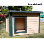 Extra Large Big Huge Dog House Great Dane Up to 150LBS Giant Dogs Shed K9 Kennel