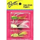 Betts Popper 3 Piece Kit - Great When Fished Near Weeds & Grass