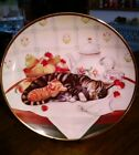 Franklin Mint Heirloom Cat Kitten Collector Plate  Cat Nap Turi MacCombie N4044