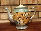 ANTIQUE / VINTAGE HAND PAINTED FINE PORCELAIN TEAPOT / COFFEE POT SIGNED JAPAN