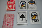 Authentic Vintage playing cards Deck Gemaco The Reserve 52/52 + 2 jokers