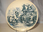 Ttansferware Choisy Le Roi Hautin Boulenger Faience Fine Charger late 19th  11