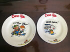 Set of 2 Royal Norfolk Dear God Plates Do you ever take a break?