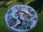 Indian Tree Warwick Covered Bowl Dish Footed C9302 Warint Multi-Color White Gold