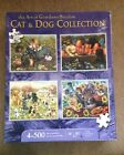 Karmin International Puppies and Kittens 500-Piece Jigsaw Puzzle  4-Pack