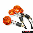4x Round Turn Signals For Suzuki Intruder Volusia VS 700 750 800 1400 1500