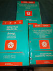 1995 JEEP WRANGLER & CHEROKEE SHOP MANUAL SET / 3 ORIGINAL BOOKS
