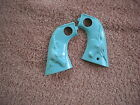 CUSTOM Turquoise Grips for Hubley Cowboy