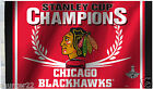 Chicago Blackhawks 3' x 5' Licenced 2015 Stanley Cup NHL Flag - Free Shipping